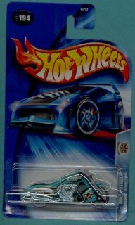Hot Wheels 2004 164 Scale Roll Patrol Aqua Blue Scorchin Scooter Die Cast Police Car #194 Toys & Games