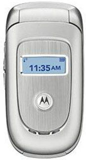 Motorola V191 Unlocked Phone with Quad Band GSM  U.S. Version with Warranty (Silver) Cell Phones & Accessories