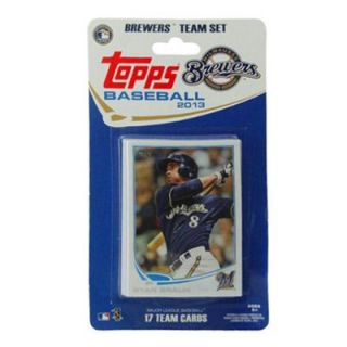Milwaukee Brewers 2013 Team Collectible Trading Card Set