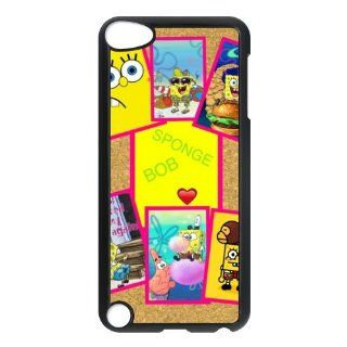 Personalized Music Case SpongeBob SquarePants iPod Touch 5th Case Durable Plastic Hard Case for Ipod Touch 5th Generation IT5SS29   Players & Accessories