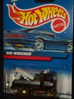 #2000 206 Rig Wrecker Collectible Collector Car Mattel Hot Wheels 164 Scale Toys & Games