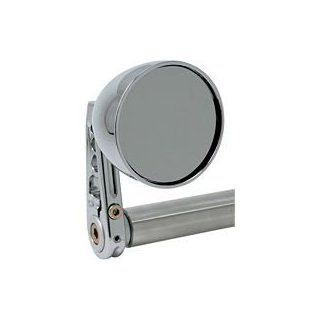 Joker Machine Cone Bar End Mirror (CHROME) Automotive