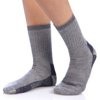Smart Socks Navy Merino Wool Crew Hiking Socks (Pack of 3) Socks