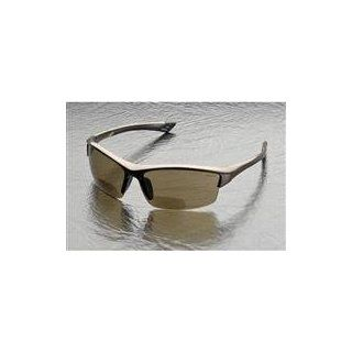 Elvex RX 350BR Sonoma Brown Polycarbonate BiFocal Safety / Fashion Glasses with +2.0 Diopters, Brown Frame