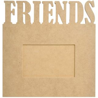 "Beyond The Page MDF Friends Frame 9.5""X10""X.5"" Kaisercraft Chipboard"