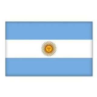 "Argentina Argentinian Flag car bumper sticker 5"" x 4"" Automotive"