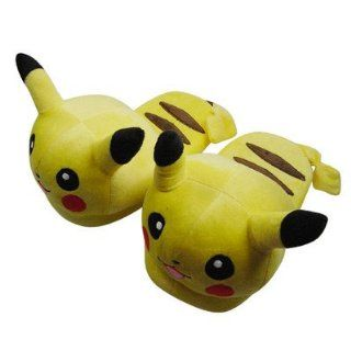 L One Pair Pokemon Pikachu Soft Plush Stuffed Slipper Toys & Games