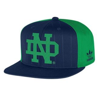 adidas College Originals Retro Snapback   Mens   Basketball   Accessories   Notre Dame Fighting Irish   Navy