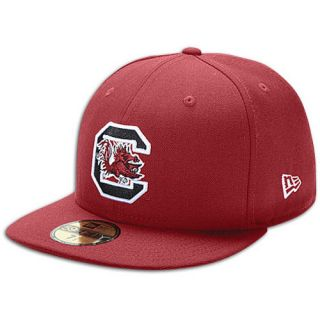 New Era 59Fifty College Cap   Mens   Basketball   Accessories   South Carolina Gamecocks   Maroon