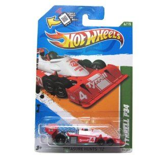 2012 Hot Wheels Treasure Hunt Tyrrell P34 Red/White #56/247 Toys & Games
