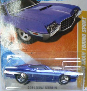 Hot Wheels 2011 New Models 2/50 '72 Ford Gran Torino #2/244 on Card Variation Toys & Games