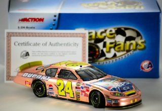 2005   Action   Stock Car   Jeff Gordon #24   Pepsi / Star Wars III   Talladega Raced Version   Chevy Monte Carlo   Rare Brushed Copper   1 of 288   124 Scale   Die Cast   Retired   New Toys & Games