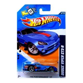 Hot Wheels 2012, Dodge Viper GTS R (BLUE), HW Performance '12, 146/247. 164 Scale. Toys & Games