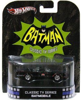 2013 Hot Wheels Retro Entertainment   Classic TV Series Batmobile Toys & Games