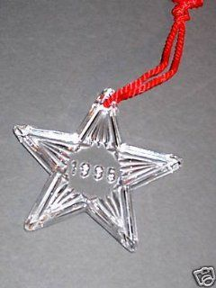 WATERFORD CRYSTAL 1995 CHRISTMAS STAR ORNAMENT  Other Products