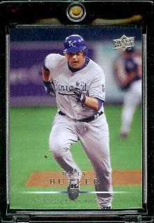 2008 Upper Deck # 259 Billy Butler   Royals   MLB Baseball Trading Card in a Protective Screw Down Display Case Sports Collectibles