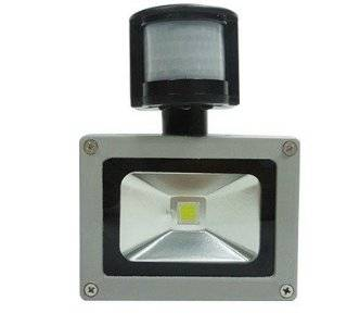 Rextin 20W AC85 265V PIR Motion Sensor LED Flood light lamp outdoor floodlight