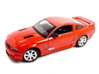 2007 Ford Mustang Saleen S281E Red Diecast Model 1/18 Toys & Games