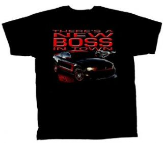 Ford Mustang Boss 302 T Shirt Boss In Town Clothing