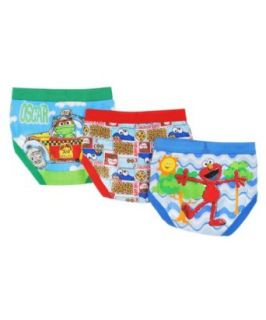 Sesame Street Elmo 3 Toddler Boys' Brief Pack (4T) Clothing
