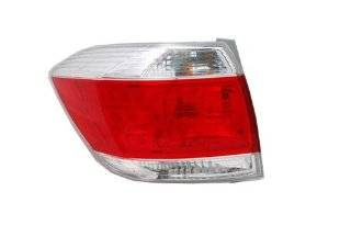 Toyota Highlander Usa Built Replacement Driver & Passenger Side Tail Light Automotive