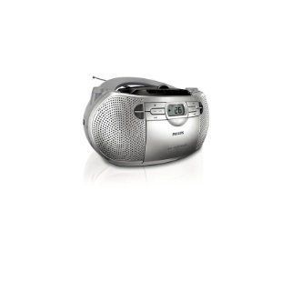 Philips AZ 1047    CD/Radio/ Cassette Player with AM/FM Radio   CD/CD R/RW Sound machine with Stereo Cassette Player Electronics