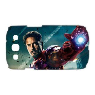 Treasure Design Iron Man 3 Movie Series Case For Smartphone Samsung GalaxyS3 I9300 3d Protective Hard Cover Cell Phones & Accessories
