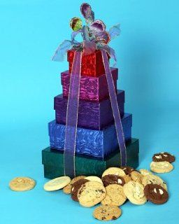 Chippery Gourmet 5 Tier Supreme Gift Box Set   84, 1.33 oz. Assorted Cookies Grocery & Gourmet Food