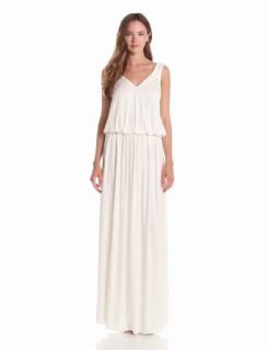 Rachel Pally Women's Nathan Drop Waist Dress, White, Medium Clothing