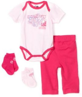Ecko Red Baby girls Newborn Gift Box Set, Pink, 6 9 Months Clothing
