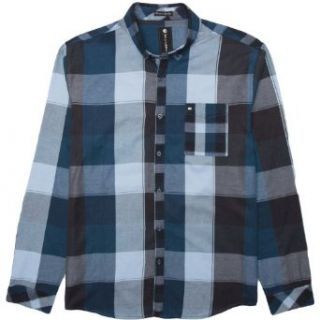 Men's Glazed Long Sleeve Shirt Clothing