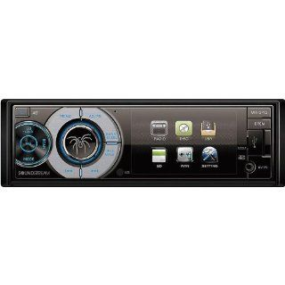 "Soundstream Vr 345 3.4"" LCD Screen Single DIN Dvd/cd CAR Receiver  Vehicle Dvd Players"
