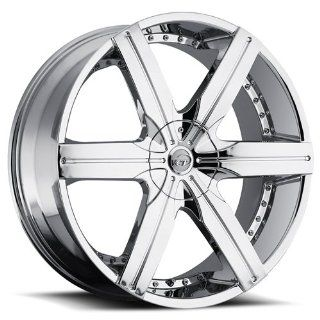 VCT WHEELS GOTTI CHROME 5X4.5/5X120 +30   24X9.5 Automotive