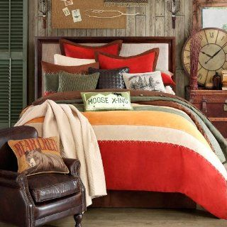 Woolrich Bear Creek Plaid 7 Piece King Comforter Set   Woolrich Curtain
