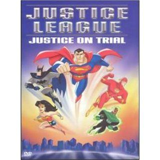 Justice League Justice On Trial Dvd Superman, Wonder Woman Batman, Hawkgirl,The Flash Green Lantern, Martian Manhunter Movies & TV