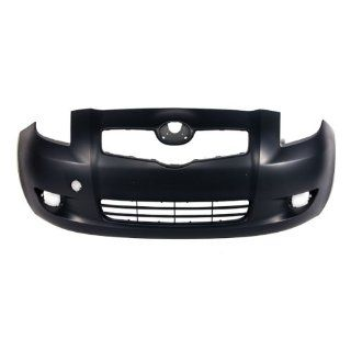 CarPartsDepot, Capa Certified Front Bumper Cover Primered Plastic Hatchback 3 Dr, 352 44691 10 CA TO1000325 5211952925 Automotive