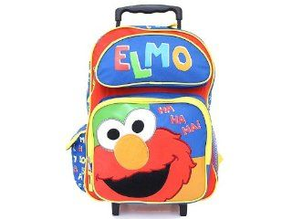 Sesame Street Elmo Toddler Rolling Backpack and Gift Set Toys & Games