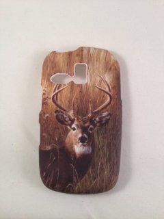 REALTREE CAMO DEER Samsung R355C R351 Link NET 10 TRACFONE RUBBERIZED HARD PHONE COVER CASE SNAP ON Cell Phones & Accessories