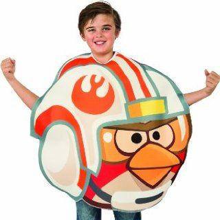 Angry Birds Star Wars Luke Skywalker Fighter Pilot Child's Costume Tunic, One Size Clothing