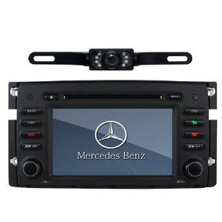 "Tyso For Benz Smart Fortwo 2008 2010 7"""" Car DVD Player GPS navigation Radio Rear Camera BT iPod CD8987R GPS & Navigation"