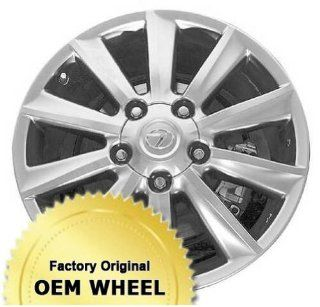 LEXUS LX570 20X8.5 10 SPOKE Factory Oem Wheel Rim  HYPER SILVER   Remanufactured Automotive