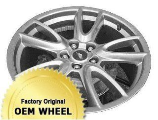 FORD MUSTANG 19X9 5 SPLIT SPOKES Factory Oem Wheel Rim  HYPER SILVER   Remanufactured Automotive