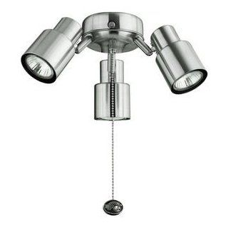 Ceiling Fan Light Kit Brushed Nickel Contemporary Razor Universal Hampton Bay