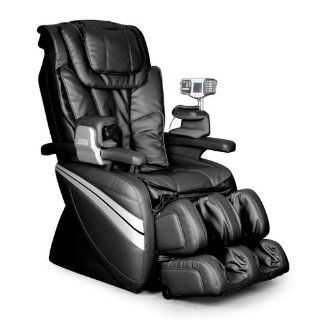 Cozzia EC366 Leather Shiatsu Spa Massage Chair   Black   Professional Massage Chairs