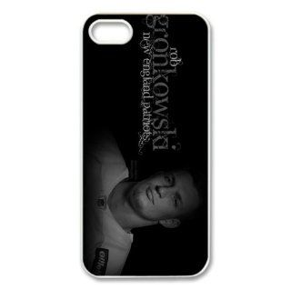 Iphone5/5s Covers Rob Gronkowski hard silicone case Cell Phones & Accessories