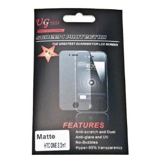 Anti glare Matte LCD Screen Protector Film for HTC One S   2 pack Cell Phones & Accessories