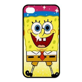 Mystic Zone SpongeBob SquarePants iPhone 4 Case for iPhone 4/4S Cover Famous Cartoon Fits Case KEK1185 Cell Phones & Accessories