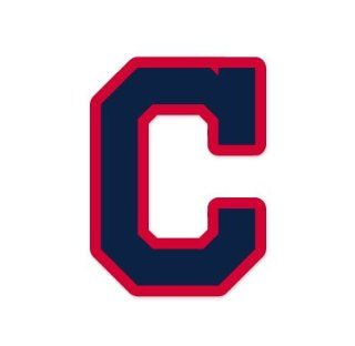 "Cleveland Indians MLB car bumper sticker decal (4"" x 5"") Sports & Outdoors"