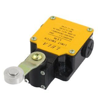 3A 240VDC 10(4)A 380VAC 1NO 1NC SPDT Momentary Rotary Roller Lever Limit Switch LEM 115   Wall Light Switches