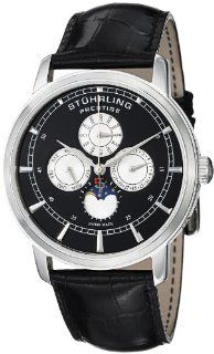 Stuhrling Prestige Men's 385.33151 Prestige Swiss Maestro Quartz Multi Function Stainless Steel Watch Watches